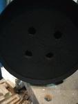 DPF filter sa izbusenim rupama